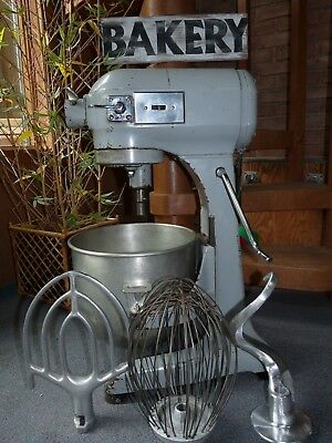 Hobart A200 20 Quart Commercial Mixer + Bowl & Whip Paddle Hook Attachments
