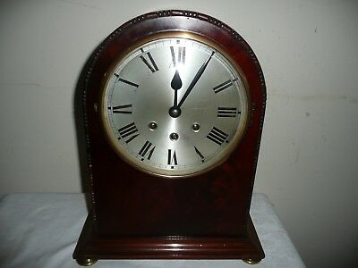 Large,Dome Top, British Made Westminster Chimes Bracket Clock. For Restoration.