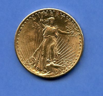 USA 20 Dollars 1925 Statue Gold