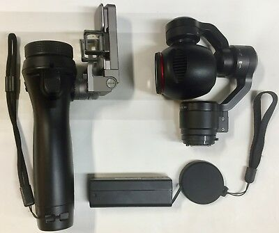 DJI Osmo Handheld 4k Camera and 3-Axis Gimbal- Black, In super Mint condition