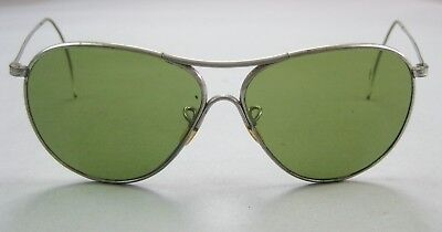 WWII Vintage American Optical Aviator Sunglasses • US Army Air Forces Air Force