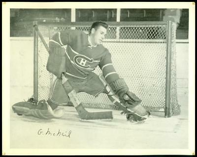 Quaker Oats Hockey Photo - Gerry Mcneil