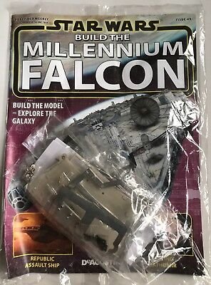 DEAGOSTINI STAR WARS BUILD THE MILLENNIUM FALCON Issue 49 - Upper Hull Frame