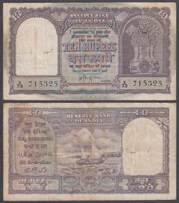 ND Reserve Bank of India 10 Rupees