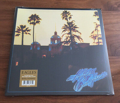 Eagles - Hotel California Vinyl LP Black 180 Gram Sealed New