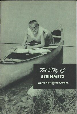 Booklet - General Electric - The Story of Steinmetz - c1945 Brochure (ST07)