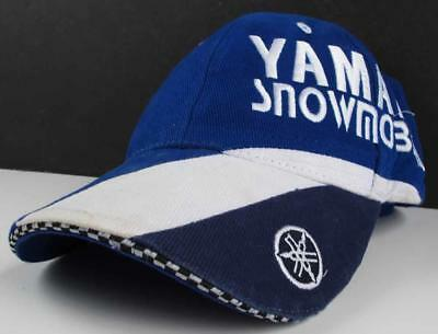 Yamaha Snowmobiles Hat Blue Embroidered Lettering