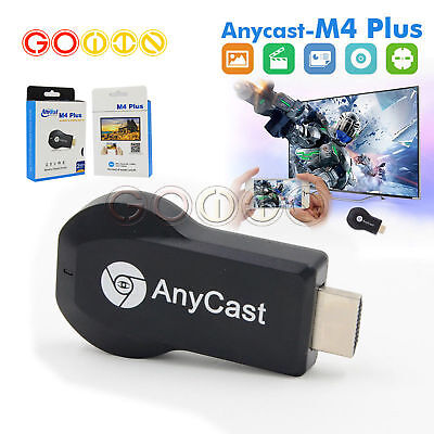 Portable AnyCast 2.4G Wifi HD 1080P Display Dongle Receiver Android TV Stick