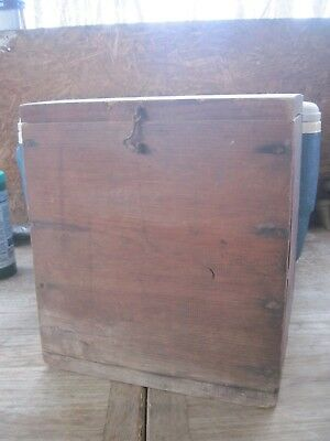 Empty Wood Box with Lift Out Drawer(was filled with Boy Scout items) Project??