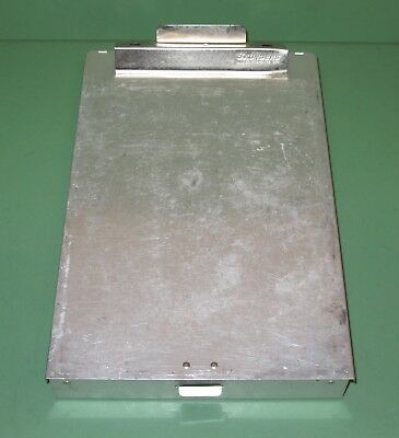 Saunders CM8512 Cruiser Mate Aluminum Clipboard Dual Storage Police Duty