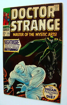1968 Doctor Strange Issue #170 Comic Book Excellent Condition 7.0
