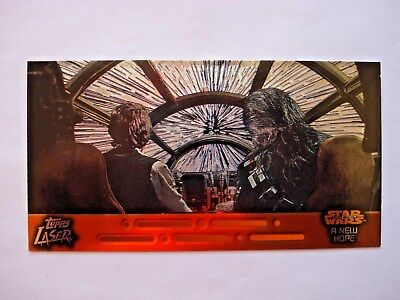 1997 Topps Star Wars Trilogy *laser Cut* Chase Card 2 Of 6