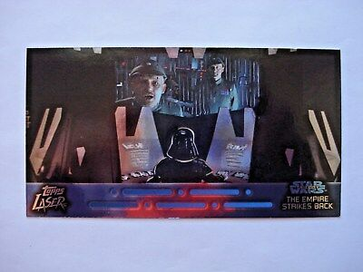 1997 Topps Star Wars Trilogy *laser Cut* Chase Card 3 Of 6