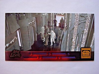 1997 Topps Star Wars Trilogy Special Edition *laser Cut* Chase Card 4 Of 6