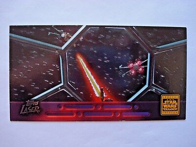 1997 Topps Star Wars Trilogy Special Edition *laser Cut* Chase Card 6 Of 6