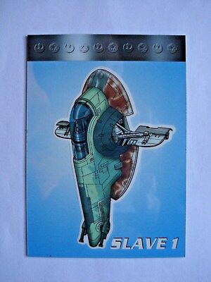1997 Topps Star Wars Vehicles *cut-Away* Chase Card C2 **rare**