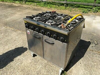 Buffalo Gas Oven Model Number 444449624 Catering Restaurant 6 Ring