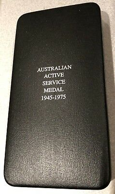 Australian Active Service Medal 1945 To 1972 Box Set