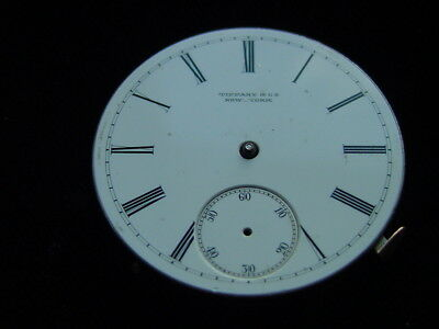 Large, High Grade Tiffany Watch Movement. Possibly A Patek. Superb Piece.