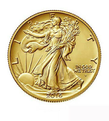 USA $ 0,5 Gold PP Walking Liberty 2016
