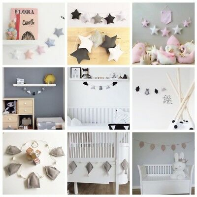 Nordic Style Handmade Kids Baby Room Tent Ornament Wall Decoration Party Gifts