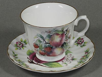 Crown Trent Fine Bone China Staffordshire England Fruit Cup & Saucer Set