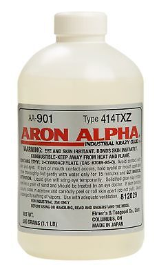 Aron Alpha 414TXZ (6,000 cps) High Heat (250 F) and Impact Resistant Instant Adh
