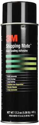 3M Case Seal Clear Shipping-Mate Case Sealing Adhesive, (Net weight: 17.3 oz.) 2