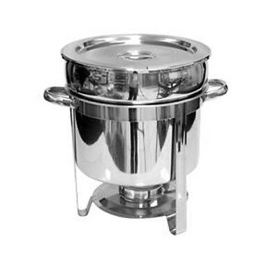 1 Stainless Steel Soup Food Chafing Dish Chafer Warmer 11 QT Catering NEW