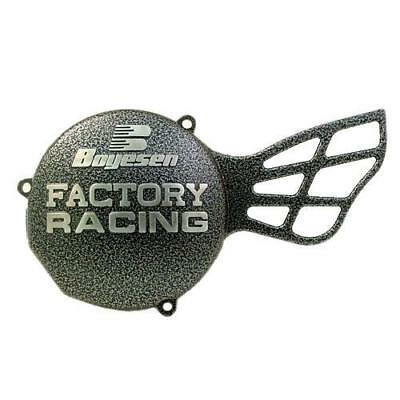 Boyesen Factory Racing Ignition Cover Silver KTM 65 SX 1998-2008