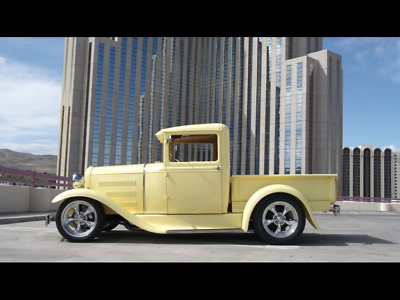 Model A Pickup Yellow Ford Model A with 2,105 Miles available now!