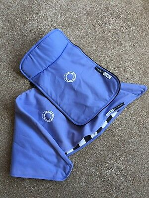 Jewel Blue Bugaboo Cameleon 3 Pushchair Fabric Set Hood Carrycot Apron fit 1 & 2