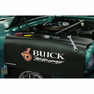 "Buick Motor Sports Car Fender Grip Cover 22"" x 34"" non-slip material"