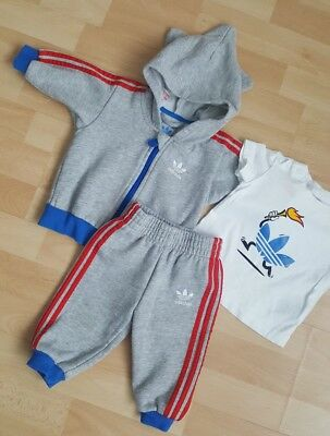 3 piece Olympic Games tracksuit - Adidas - age 0-3 months WORN ONCE