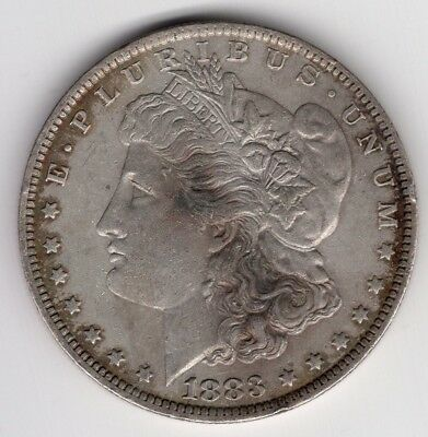 1883 O Us Morgan Silver Dollar United States America Nice Coin