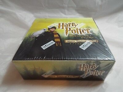Harry Potter And The Sorcerer's Stone Widescreen Trading Cards Sealed Box