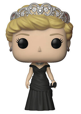 Funko Pop Royals - Princess Diana in Black Dress Figure