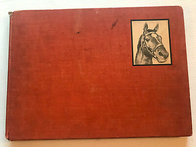 """C.W. ANDERSON """"Black, Bay and Chestnut"""" Profiles of 20 Favorite Horses"""" 1939 HC"""