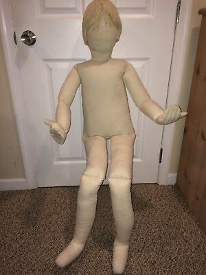 Vintage 1970's Boogie Bear's Design & Display Factory Poseable Cloth Mannequin