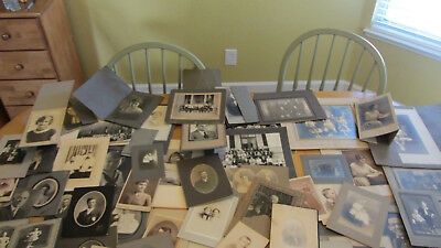 Large Lot Vintage Black & White Photos