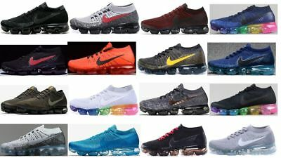 High Qualit Men's 2018 Air Max Vapormax Flyknit Multicolor Trainer Sneaker Shoes