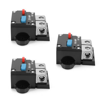 100A/200A/300A Circuit Breaker Car Boat Stereo Audio Inline Fuse Holder Inverter