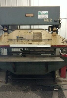 Diacro 16-96 Hydra Power press brake 8' with CNC, Unipunch  tooling will ship