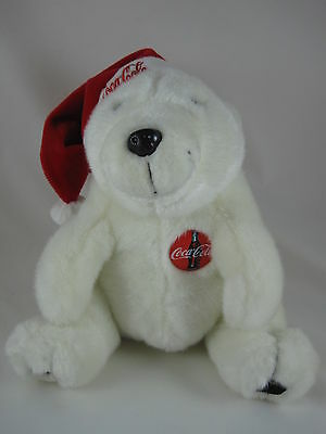 Vintage Coca-Cola White Bear from 1993 - Excellent Condition!