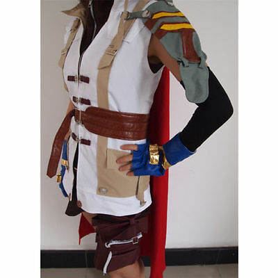 Brand new Final Fantasy XIII Lightning Halloween Cosplay Costume S