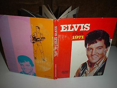 Elvis Special  / Annual / Book * 1971 * An Elvis Monthly Special  Albert Hand Uk