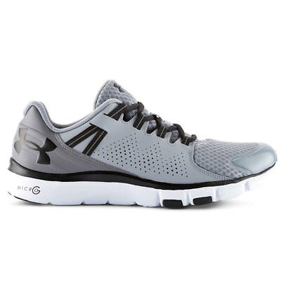 Under Armour Mens UA Micro G Limitless Trainers - Steel/Graphite - UK 8