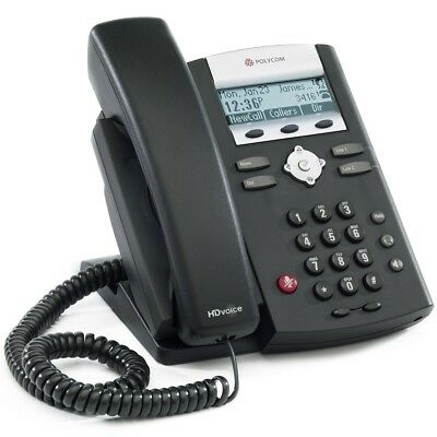 Polycom SoundPoint IP335 VOIP phone corded PoE P/N: IP335