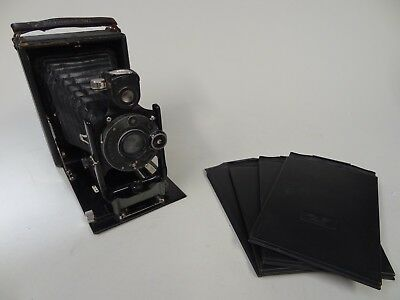 Very Old MAXIMAR 207 Plate Camera with 4 Plate Holders Restoration Project