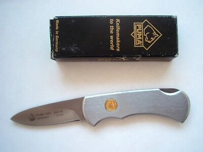 Puma 2007 Stainless 4 Star Mini Lock Back Knife 280730
